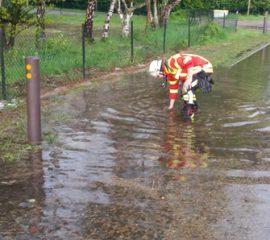 Unwetter im Landkreis Harburg