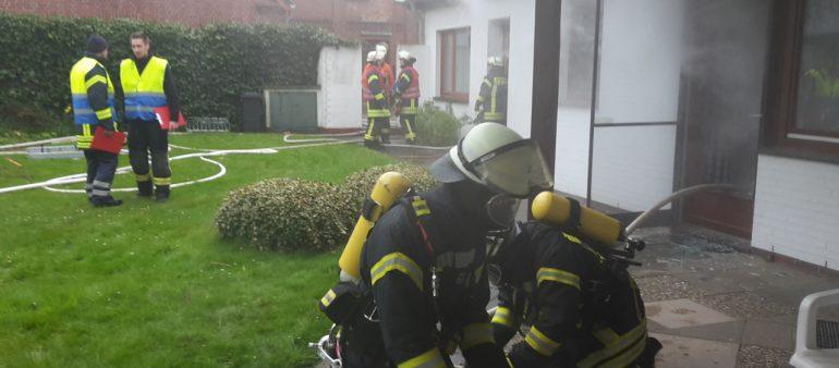 Alarmübung der Feuerwehren Samtgemeinde Rosengarten