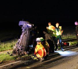 Ein Schwerverletzter bei Verkehrsunfall in Maschen – PKW prallte gegen Baum