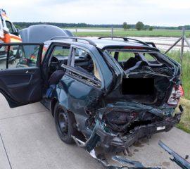 Drei Verletzte bei erneutem Verkehrsunfall auf der A7
