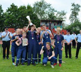 Jugendfeuerwehrgruppe Wesel 3 gewinnt den Bezirkswettbewerb in Loxstedt