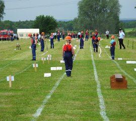 Jugendfeuerwehrgruppe Wesel 3 gewinnt beim  Kreisjugendfeuerwehrtag in Marxen
