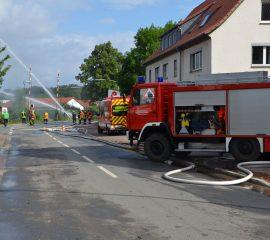 Einsatz der Kreisfeuerwehrbereitschaften im Landkreis Hildesheim