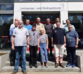 Kreisausbildungsleiter Hans Ulrich Dederke verabschiedet