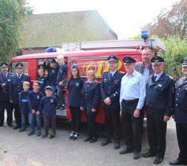 23.09.17 : Feuerwehr Thieshope gründet als erste Feuerwehr der Samtgemeinde Hanstedt eine Kinderfeuerwehr