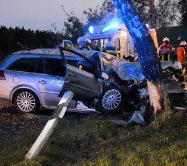 Schwerer Verkehrsunfall bei Luhmühlen