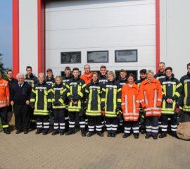 17 neue Feuerwehrleute für die Feuerwehren der Gemeinde Rosengarten