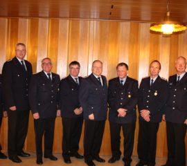 27.10.17 : Ehrungsabend bei der Feuerwehr Sprötze : Verdiente Mitglieder wurden ausgezeichnet