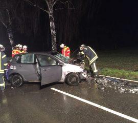 29.01.18 : Eine Tote und eine Verletzte bei schwerem Verkehrsunfall bei Ramelsloh