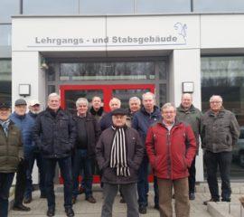 Ehrenabteilung der Freiwilligen Feuerwehr Hittfeld besichtigt die FTZ