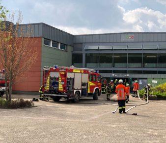 23.04.2018: Feuer an Salzhäuser Oberschule verursacht hohen Sachschaden