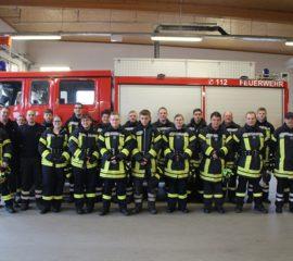 Erfolgreiche Truppmann-1-Ausbildung in der Elbmarsch