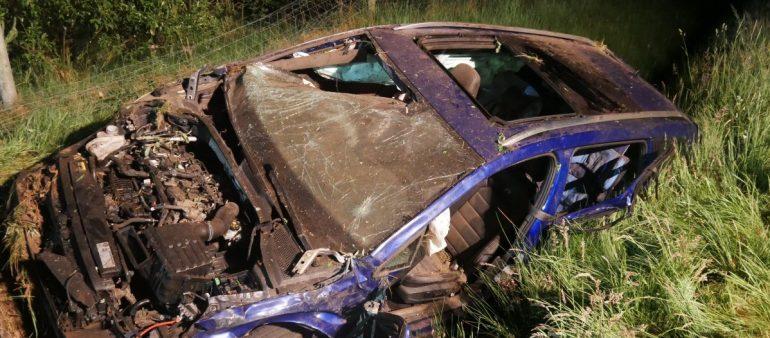 20.05.18 : Schwerer Verkehrsunfall auf A1 bei Heidenau