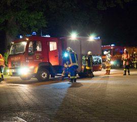 """Übungsmarathon für die Feuerwehren Asendorf und Marxen – Zweite """"Asendorfer Übungsnacht"""" war ein voller Erfolg"""