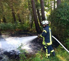 31.05.18 : Zwei Waldbrände in der Samtgemeinde Hanstedt fordern Feuerwehren