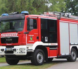 Erstes HLF10 in Bütlingen feierlich in den Dienst gestellt