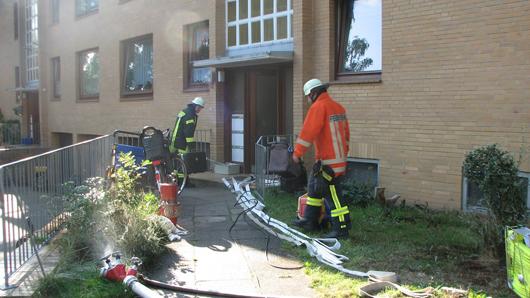 02.08.18 : Küchenbrand in Hanstedt