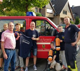 Tolle Anschaffungen bei der Feuerwehr Tötensen – Fördervereinsarbeit trägt Früchte