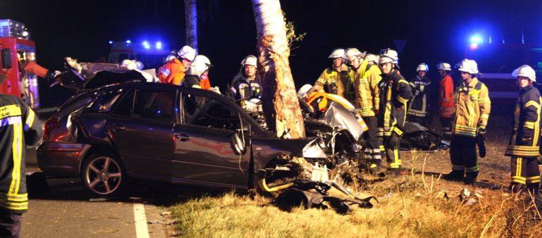 04.08.18 : Schwerer Unfall auf der Landesstraße 215 bei Pattensen
