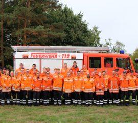 29 neue Feuerwehrleute für die Feuerwehr Seevetal – Truppmann 1 Ausbildung erfolgreich abgeschlossen