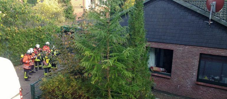 17.10.18 : Defekte Heizungsanlage in Brackel löst Feuerwehreinsatz aus