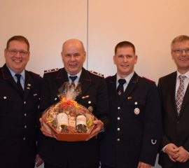 Herbstversammlung der Freiwilligen Feuerwehr Quarrendorf – Horst Dohrmann für 60-jährige Mitgliedschaft geehrt