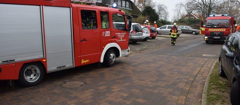 25.11.18 : Ausgelöster Rauchwarnmelder in Schierhorn beschäftigt Feuerwehr