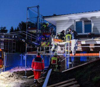 12.12.18 : Personenrettung über DLK in Buchholz