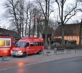 Übung der Kreisbereitschaft in Egestorf