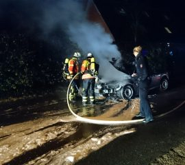 12.11.17 : PKW Brand in Holtorfsloh