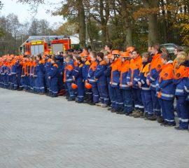 Jugendflamme 2 für 106 Jugendfeuerwehrmitglieder