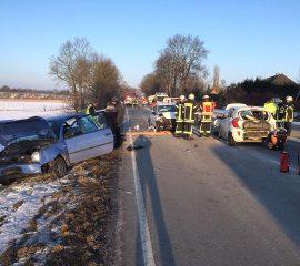 Mehrere Verletzte bei Unfall in Gehrden