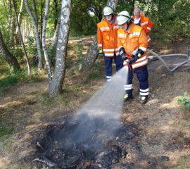 23.07.18 : Hohe Brandgefahr durch anhaltende Trockenheit – Feuerwehren fahren täglich trockenheitsbedingte Einsätze – Dringende Warnung zur Vorsicht im Umgang mit offenem Feuer