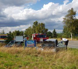24.08.18 : Zwei Verletzte bei Verkehrsunfall in Ramelsloh – zwei PKW kollidierten