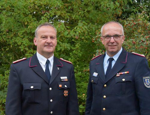 Deutsches Feuerwehr-Ehrenkreuz in Gold für Norbert Petersen aus Garlstorf
