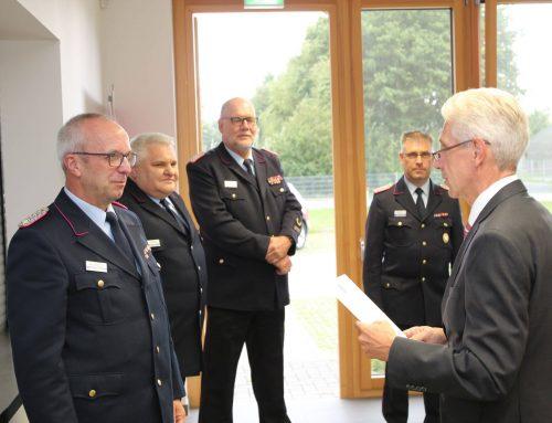 Führungsteam der Kreisfeuerwehr ernannt