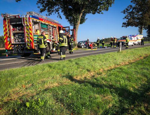 Schwerer Verkehrsunfall in Sprötze