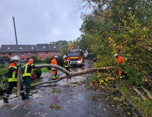 Sturmeinsätze im Landkreis Harburg
