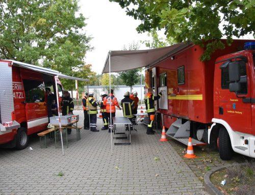 Großübung von Rettungsdienst und Feuerwehr in Hanstedt